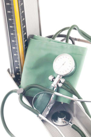 systolic: Blood pressure Stock Photo