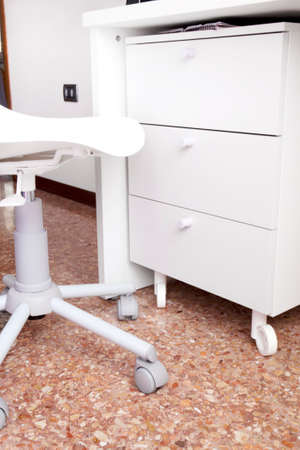 drawers: Desk drawers Stock Photo