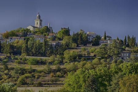 church atop a hill