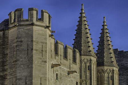 castle tower at Palais des Papes