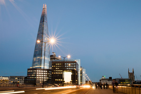 the shard by twilight