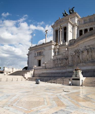 grand entrance at Il Vittoriano