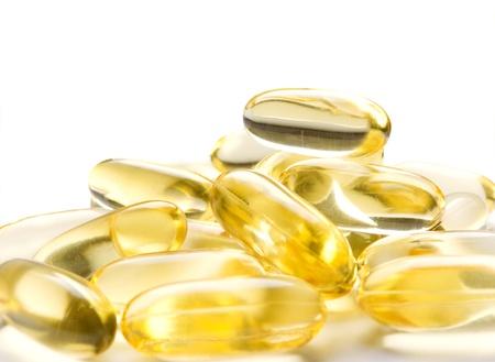 Omega-3 capsules photo