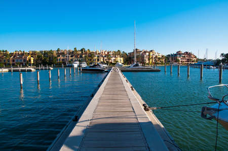 habour: Sotogrande Stock Photo