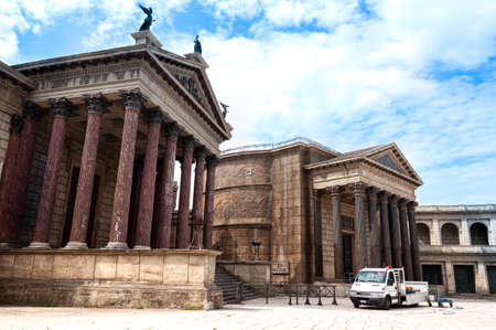Cinecitta's HBO series rome filming set