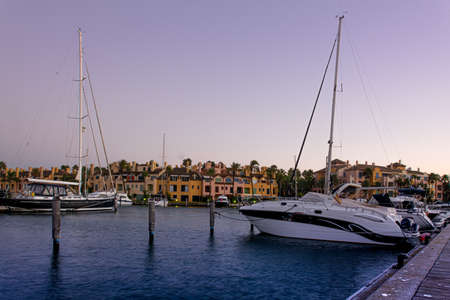 Sotogrande urbanisation and Marina in Andalusia