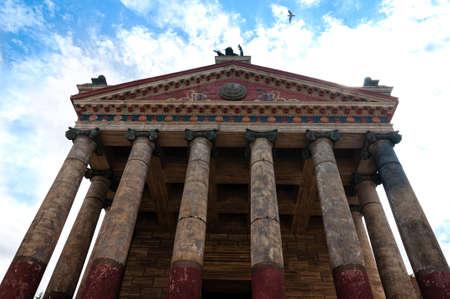 Cinecitta's HBO series rome filming set Stock fotó