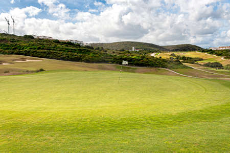 La Alcaidesa Golf and Links in the South of Spain Archivio Fotografico - 125070629