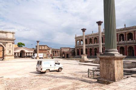 Cinecitta's HBO series rome filming set Stock fotó - 125083531