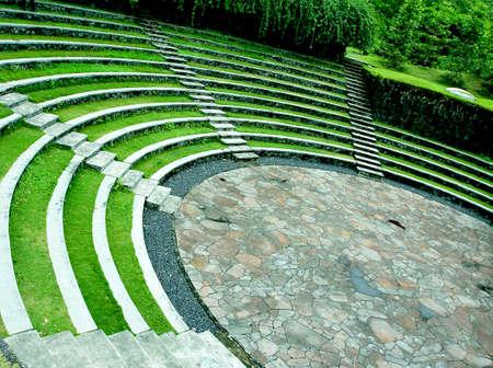 Amphitheater at Tomohon, Menado, Indonesia