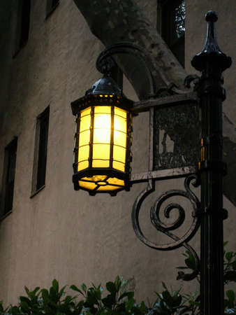 restored: Restored historic lantern in New York