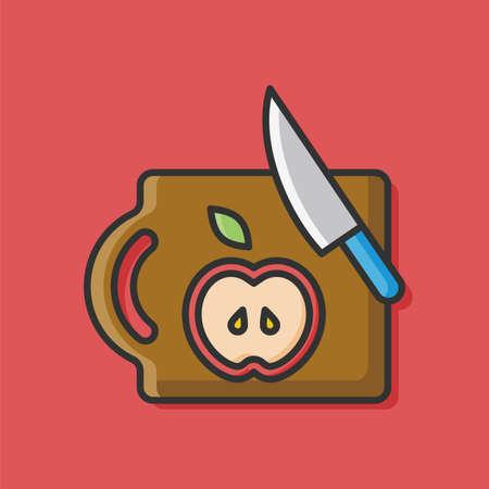 chopping: Chopping block doodle