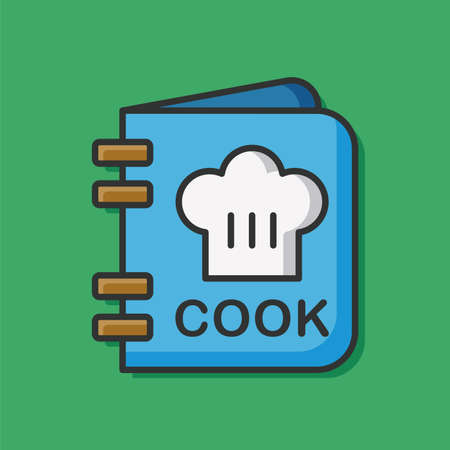 cooking book: cooking book icon Illustration