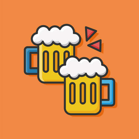 draughts: beer icon