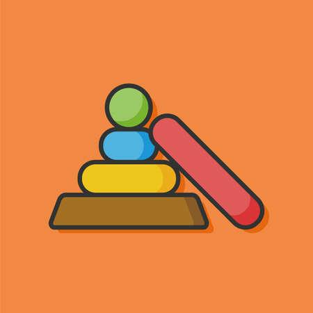 educational: educational toy icon