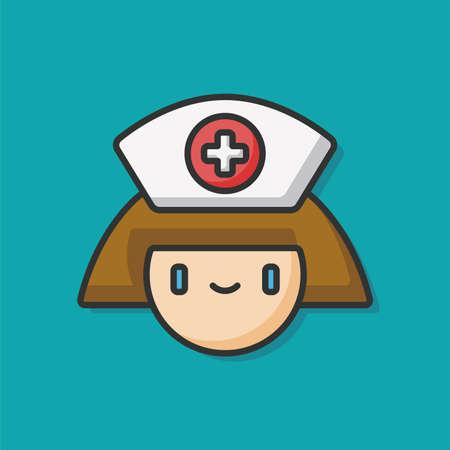 clinical staff: nurse icon