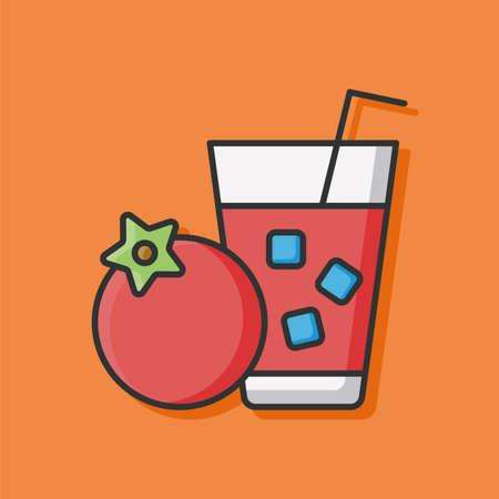 tomato juice: tomato juice icon