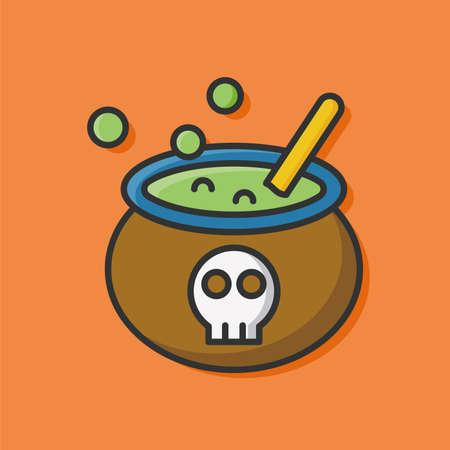 poison: Halloween poison icon Illustration