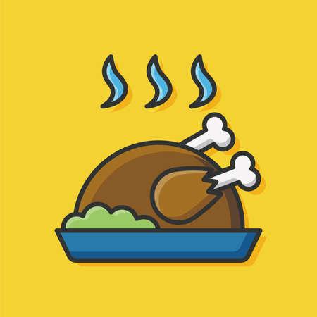 icona di pollo