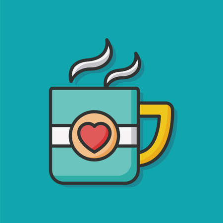 lover: lover cup icon Illustration