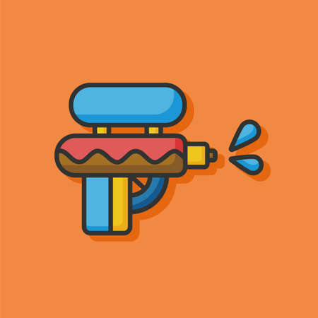 shot gun: water gun icon