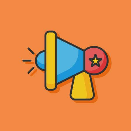 loudspeaker: loudspeaker icon