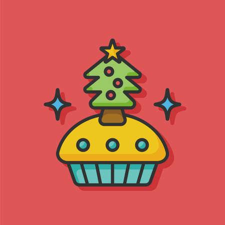 christmas cake: christmas cake icon