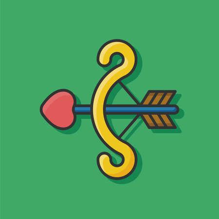 cupido: Cupids arrow icon