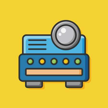 cam: video cam icon Illustration