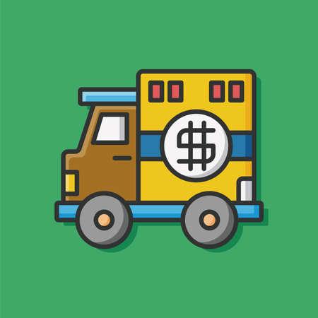 Armored car icon
