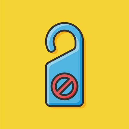 disturb: Not disturb icon