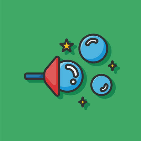 blowing: Blowing bubbles icon