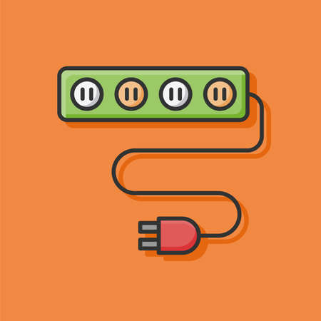 overload: Extension cord icon
