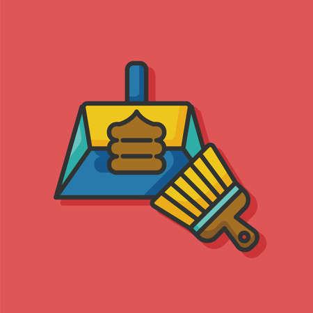 feces: pet poo icon Illustration