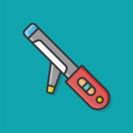 rulos: Hair curlers icon