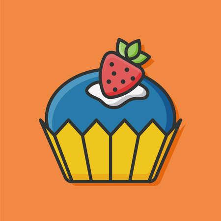 buttercream: cupcake icon