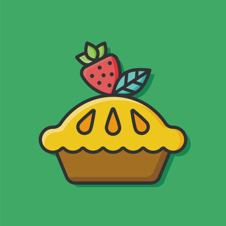 buttercream: pie icon