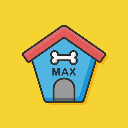 dog house: dog house icon