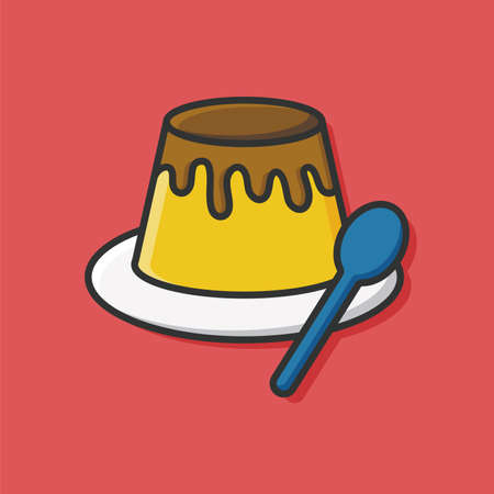 flan: pudding icon