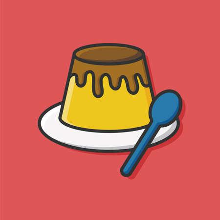sweetened: pudding icon