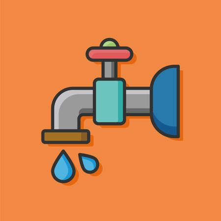 trickle: Faucet icon