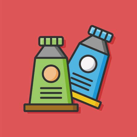 pigment: Pigment paint icon vector
