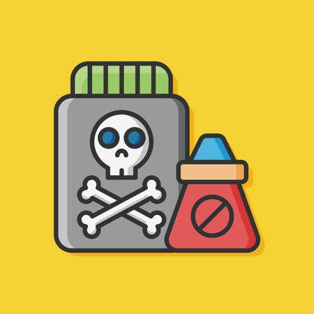 drug control: Pesticide icon