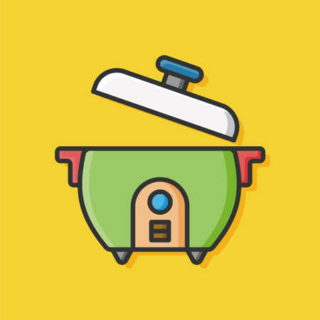 rice cooker: rice cooker icon