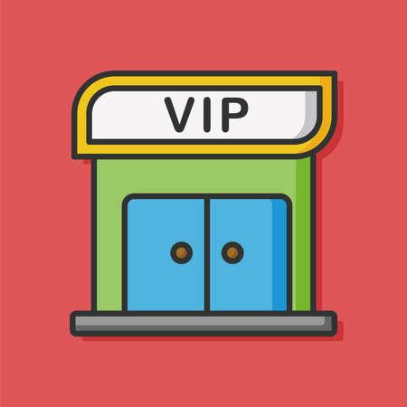 airport vip room icon 向量圖像