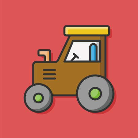 tow: Farm Tow truck icon