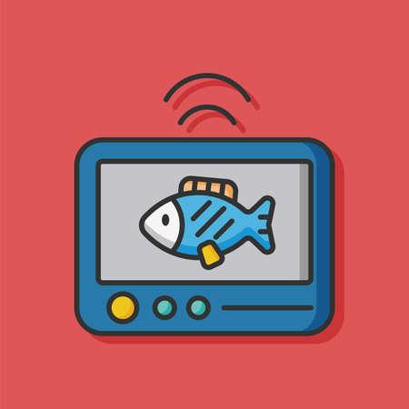 animal: animal fish vector icon