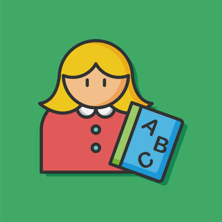 occupation: occupation character teacher icon