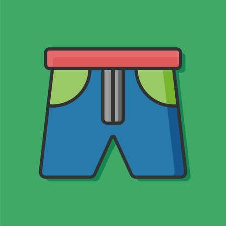 vest: clothing vest icon Illustration