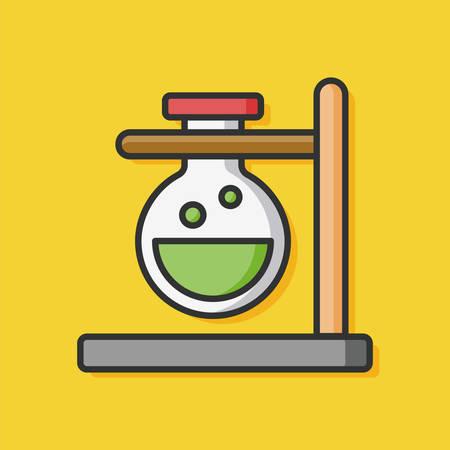 experiment: Experiment Beaker vector icon